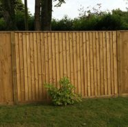 Green (Light) Closeboard Fencing Kit with Cant Rails 3.00m W x 1.80m H