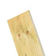 Green (Light) Feather Edge Board 1.80m-Ex 125mm x 22mm