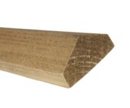 Garden Fence Capping 3.00m-65mm W x 38mm H