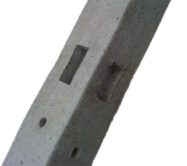 Morticed (concrete) Corner Post-2.75m