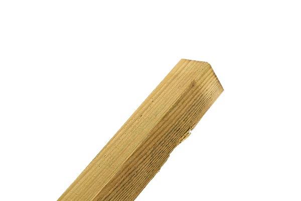 """ARRIS Rail escrime traités Timber Arris fence rail 75 mm 3/"""" escrime Rail"""