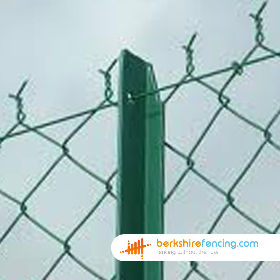 Chain Link Angle Iron Fence Posts Berkshire Fencing
