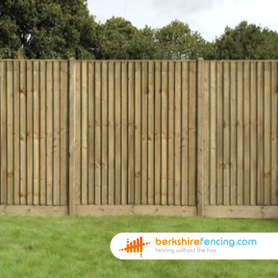 Close Board Fence Panels 4ft X 6ft Natural Berkshire Fencing
