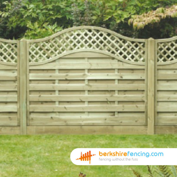 Omega Lattice Top Fence Panels 3ft x 6ft