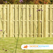 Planed and Profiled Picket Fence Panels