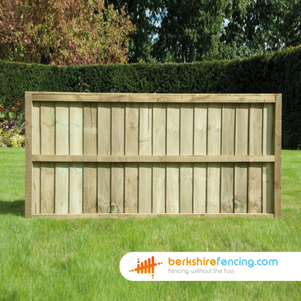 Pressure Treated Close Board Fence Panels 6ft x 6ft