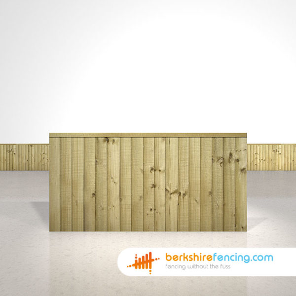 Close Board Fence Panels 3ft x 6ft Natural