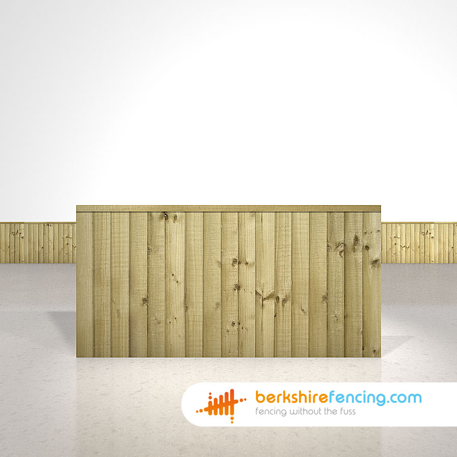 Close Board Fence Panels - Berkshire Fencing