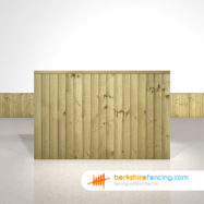 Close Board Fence Panels 4ft x 6ft Natural