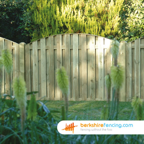 Double Sided Picket Fence Panel (3) 90cm H x 180cm W brown