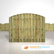 Double Sided Picket Fence Panels 5ft x 6ft natural