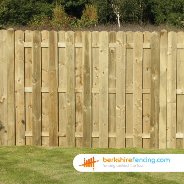 Wood Planed and Profiled Picket Fence Panels 3ft x 6ft