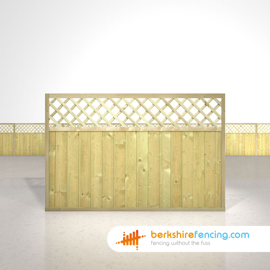 Tongue and groove lattice top fence panels 4ft x 6ft natural garden tongue and groove lattice top fence panels 4ft x 6ft natural baanklon Images