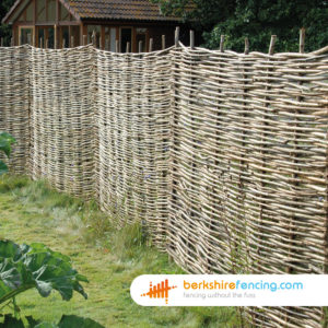 heavy duty Willow Hurdles Fence Panels 3ft x 6ft