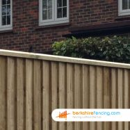 Close Board Fence Capping