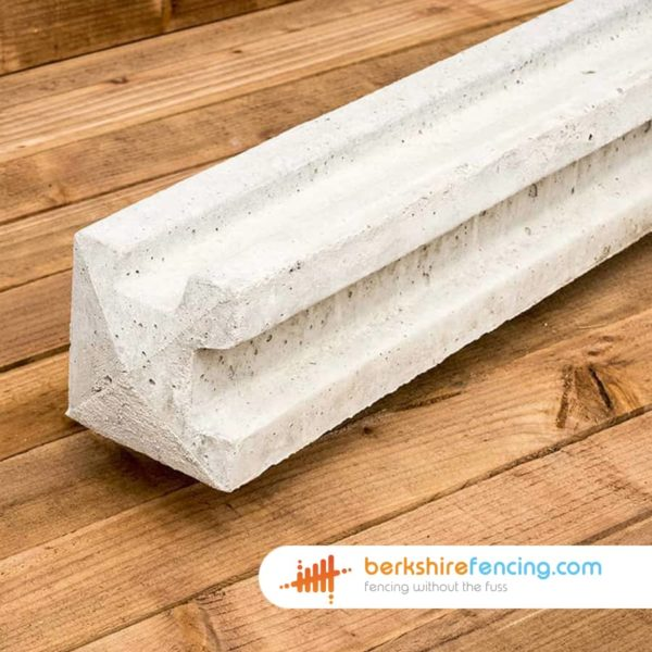 Remix Concrete Slotted Corner Fence Posts 100mm x 100mm x 1800mm