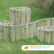 An Example of our Log Roll Edging in Ascot