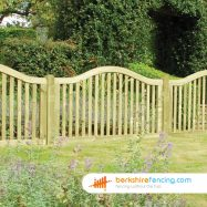 Omega Top Border Panels (3) 50mm x 1800mm x 1050mm natural