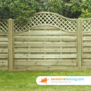 Omega Lattice Top Fence Panels