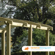 Pergola Angled Rail (3) 3600mm x 50mm x 100mm natural