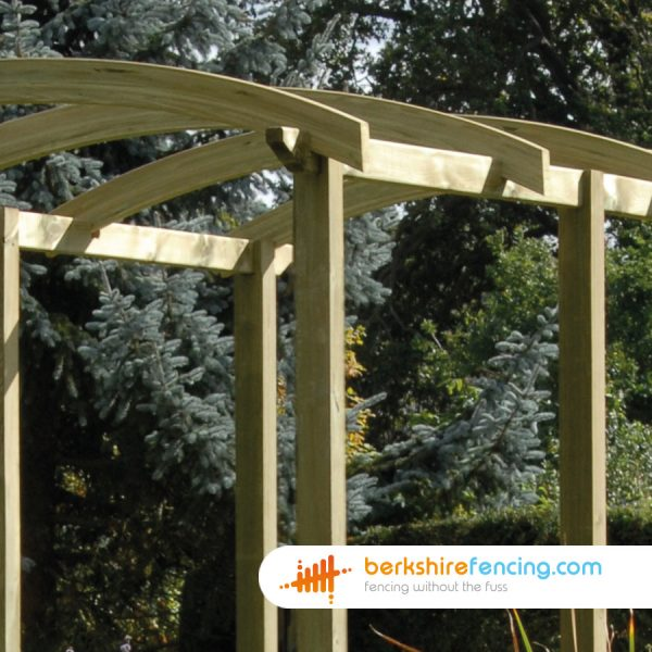 An Example of our Pergola Slotted Post in Bracknell