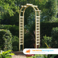 Rose Arch (3) 400mm x 1000mm x 2800mm natural
