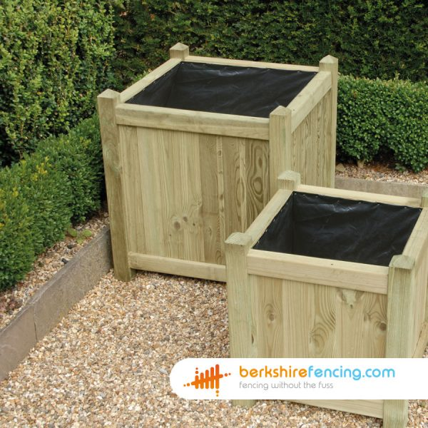 650mm x 650mm x 650mm Square Planter Constructed in Pressure Treated Timber for a customer in Andover