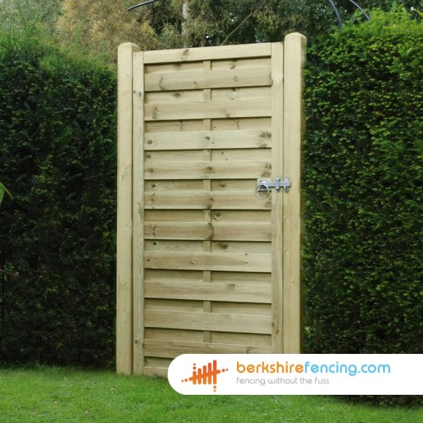 heavy duty Square Top Horizontal Panelled Gate 1800mm x 900mm x 50mm