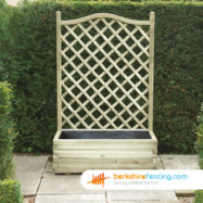 Trellis Planter (3) 1000mm x 500mm x 1530mm natural