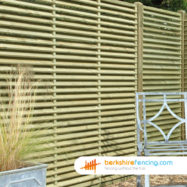 Venetian Lattice Top Fence Panels
