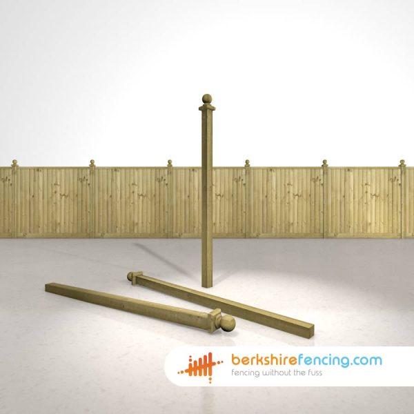 Wooden Fence Post Ball Cap 12.5cm x 7.5cm x 7.5cm natural