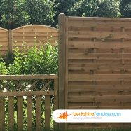 Wooden Morticed End Fence Post (3) 100mm x 100mm x 2700mm brown