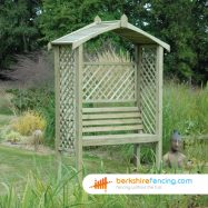 Exclusive Apex Arbour 600mm x 1500mm x 2500mm natural