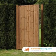 Garden Close Board Panelled Gate 1800mm x 900mm x 50mm brown