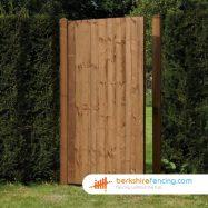 Garden Close Board Panelled Gate 1800mm x 900mm x 50mm brown
