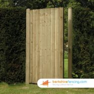 Close Board Panelled Gate 180cm x 90cm x 2cm natural