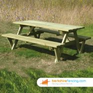 Elite A Frame Table 90cm x 140cm x 150cm natural