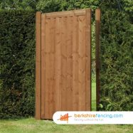 Garden Elite Close Board Panelled Gate 1800mm x 900mm x 50mm brown
