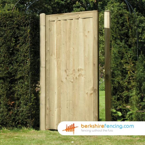 Exclusive Elite Close Board Panelled Gate 1800mm x 900mm x 50mm natural