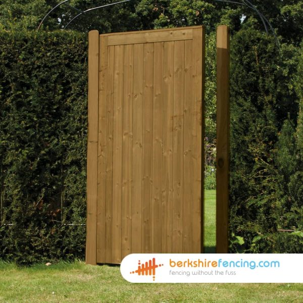 Exclusive Elite Tongue and Groove Panelled Gate 1800mm x 900mm x 50mm brown