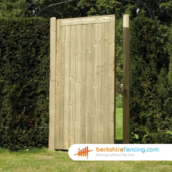 Elite Tongue and Groove Panelled Gate 180cm x 90cm x 2cm natural