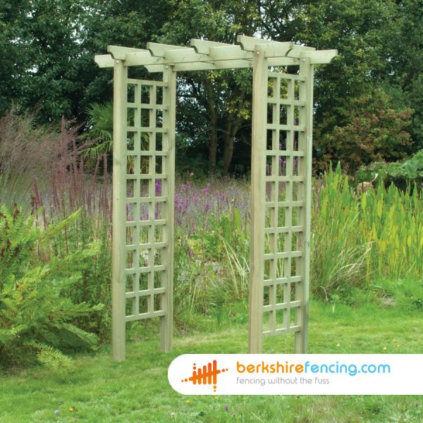 Exclusive Flat Top Arch 600mm x 1250mm x 2400mm natural