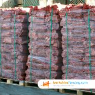 Exclusive Kiln Dried Logs 100mm x 100mm x 100mm natural