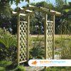 Designer Omega Top Arch 600mm x 1250mm x 2600mm natural