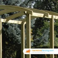 Designer Pergola Slotted Post 2700mm x 100mm x 100mm natural