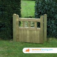 Regency Smooth Planed Decorative Gate 90cm x 90cm x 2cm natural