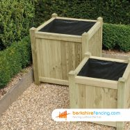 Square Planter 65cm x 65cm x 65cm natural