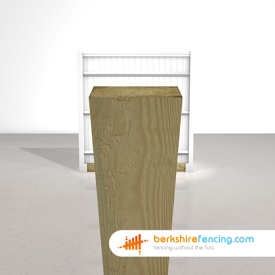 Wooden Gravel Boards 22mm X 150mm X 1800mm Natural