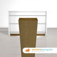 Designer Wooden Gravel Boards 150mm x 22mm x 3000mm brown