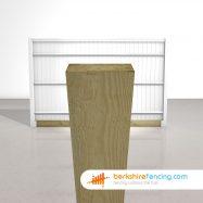 Garden Wooden Gravel Boards 150mm x 22mm x 3000mm natural